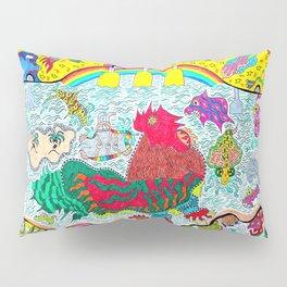 Supersonic Key West Gypsy Blast Pillow Sham