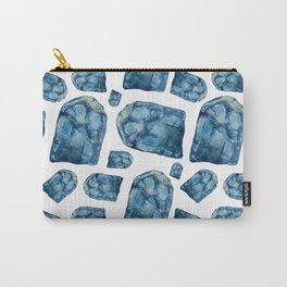 Alexandrite Birthstone Watercolor Illustration Carry-All Pouch