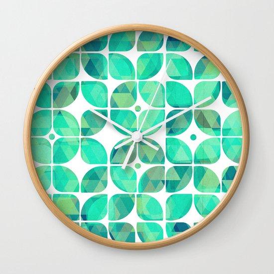 Minty Wall Clock