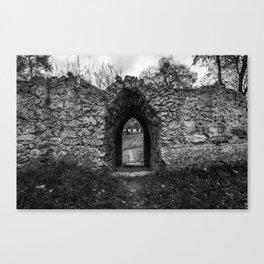 The path beyond Canvas Print