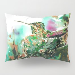 Momma Hummer - Anna's Hummingbird Pillow Sham