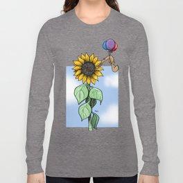 Floating toward a dream Long Sleeve T-shirt