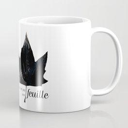 Ceci n'est pas une feuille Coffee Mug