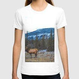 Jasper Local- Aka Mr. Male Elk/Wapiti T-shirt