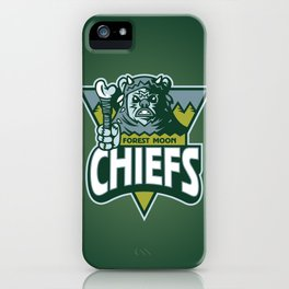 Forest Moon Chiefs - Green iPhone Case