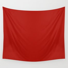Simply Hot Summer Red - Mix and Match with Simplicity of Life Wall Tapestry