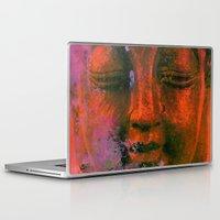 meditation Laptop & iPad Skins featuring Meditation by zAcheR-fineT