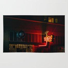 Neon Bar - Livingston, MT Rug