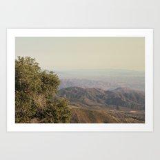 Rolling hills Art Print