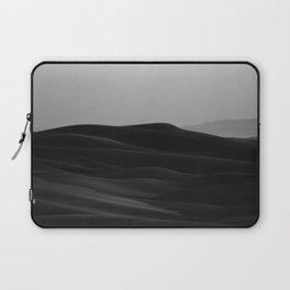 Dark Modern Minimalist Landscape Desert Dunes Laptop Sleeve
