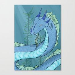 Sea Serpent Dragon Canvas Print