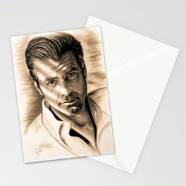 George Clooney II Stationery Cards