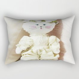 Bunny in Bloomers Rectangular Pillow