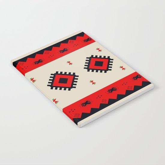 Romanian Pattern Notebook