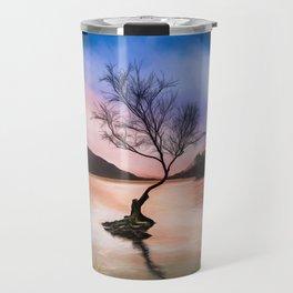 Llanberis Lake Tree Travel Mug