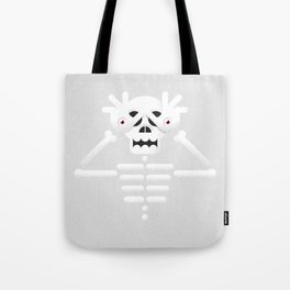 Skeleton / Pale Man Tote Bag