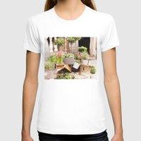 dublin T-shirts featuring Dublin Flower Shop by Judith Kimber Photography