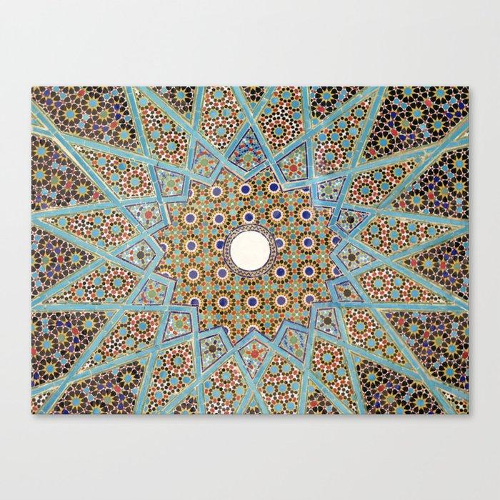 Mandala Pattern 2 Canvas Print
