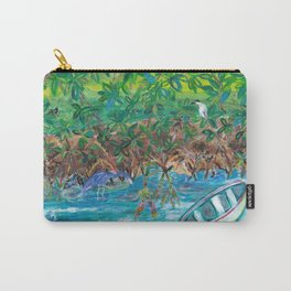 Island Mangroves Carry-All Pouch