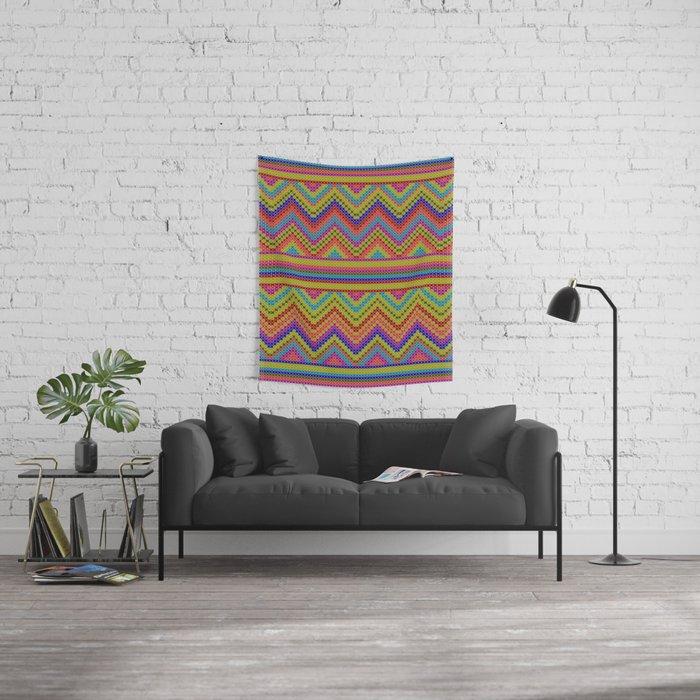 ziggy-zag x-dust Wall Tapestry
