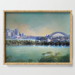 Sydney - The Harbour City Serving Tray