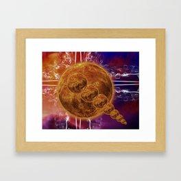 Hot Rocks Framed Art Print