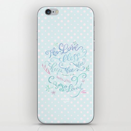 You Are Loved Mom - Number 6:24 - Polka dots by joyfultaylor