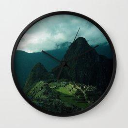 Machu Picchu NO3 Wall Clock