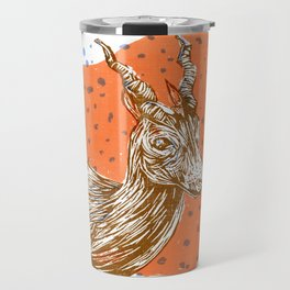 Spiral-Horned Antelope Travel Mug