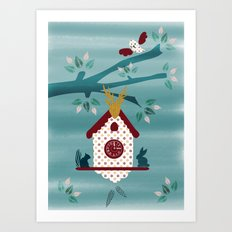 Cuckoo Tree  Art Print