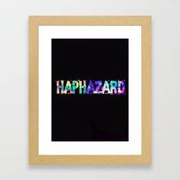 Haphazard Framed Art Print