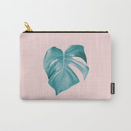 Monstera Leaf #2 #tropical #decor #art #society6 Carry-All Pouch
