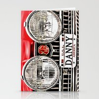 danny haas Stationery Cards featuring MG Danny by Catherine Doolan