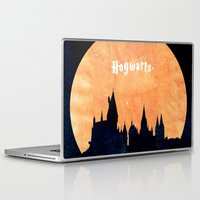 hogwarts Laptop & iPad Skins featuring Hogwarts by IA Apparel