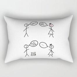 San Valentine's Day for Him Rectangular Pillow