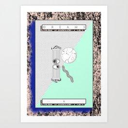 """R"" of DREAMS Art Print"
