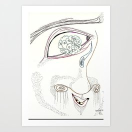 Cotton eye Joe Art Print