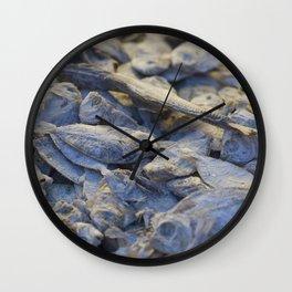 Dried Fish Wall Clock