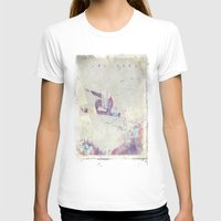 snowboard T-shirts featuring Explorers IV by HappyMelvin