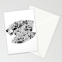 gilmore doodles Stationery Cards