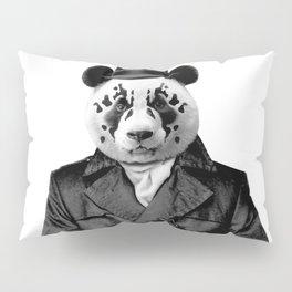 Rorschach Panda Pillow Sham