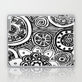 STEP INTO MY GARDEN Laptop & iPad Skin