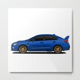 Subaru WRX Metal Print