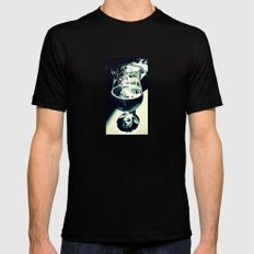 Beer Black SMALL Mens Fitted Tee