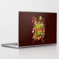 reggae Laptop & iPad Skins featuring Rhapsody Of Reggae by sena cinar