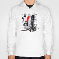 poland Hoodies featuring Warsaw Uprising, Poland - 1944 by viva la revolucion