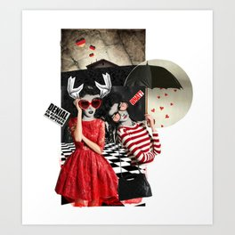 _DENIAL Art Print