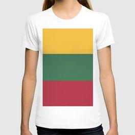 Lithuania flag emblem T-shirt