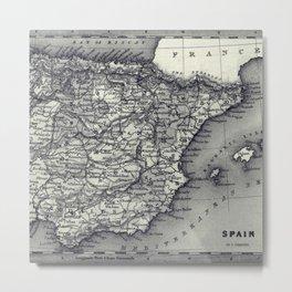 Old Maps 415 Metal Print