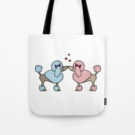Poodle Dog Love Boy Girl Doggie Puppy Gift Present Tote Bag